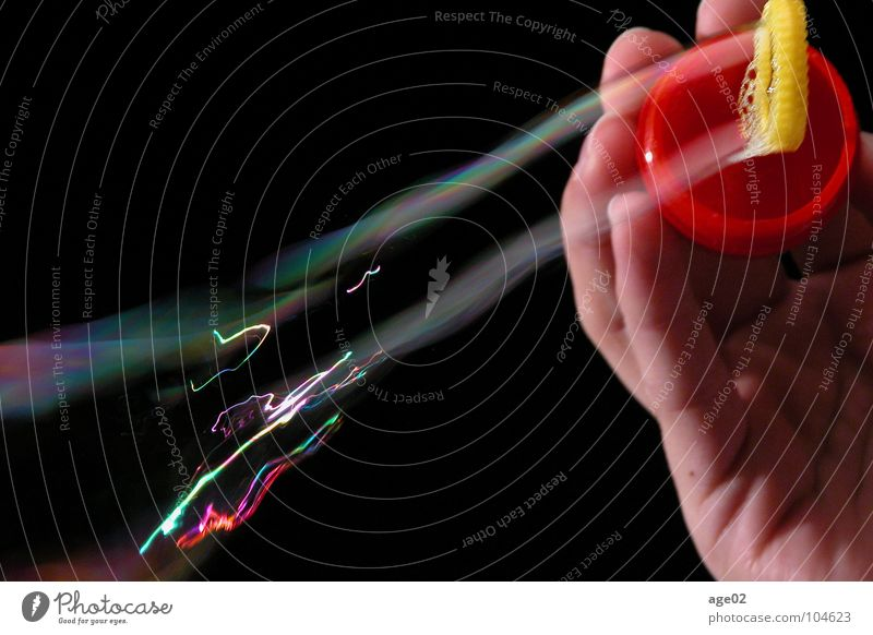 Beautiful Calm Movement Transience Dynamics Soap bubble Dazzling