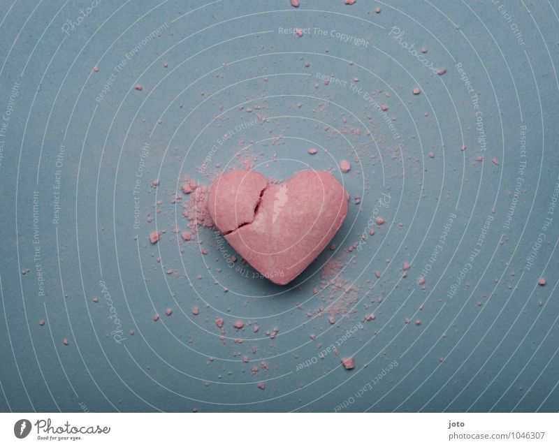Loneliness Sadness Love Pink Heart Transience Broken Sweet Hope Longing Candy Division Pain Force Distress Trashy