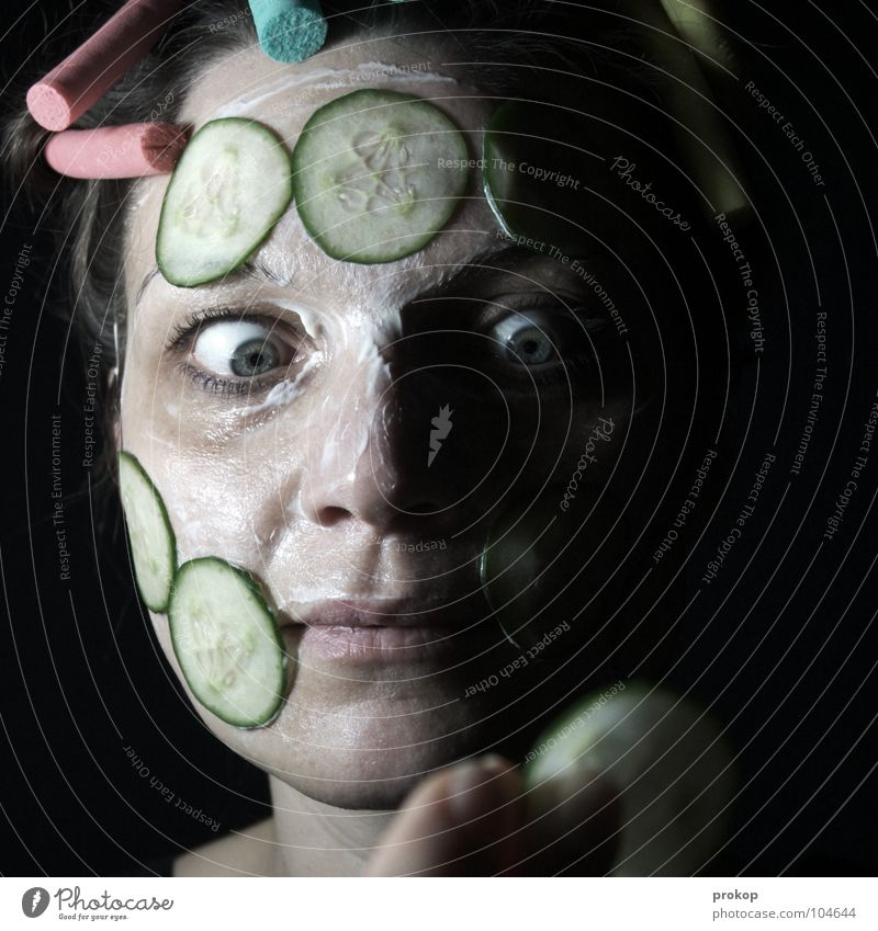 Human being Woman Nature Hand Beautiful Eyes Dark Funny Crazy Esthetic Sweet Wellness Vegetable Mask Illness Curl