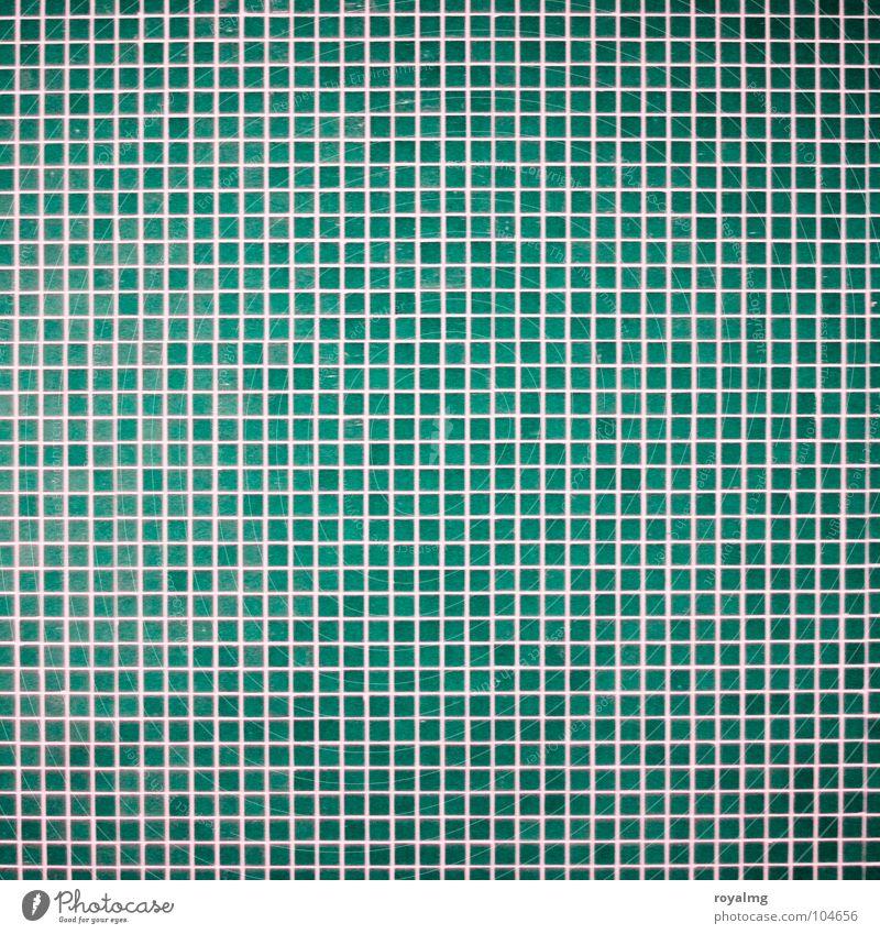 Blue Wall (building) Line Facade Bathroom Tile Checkered Mosaic