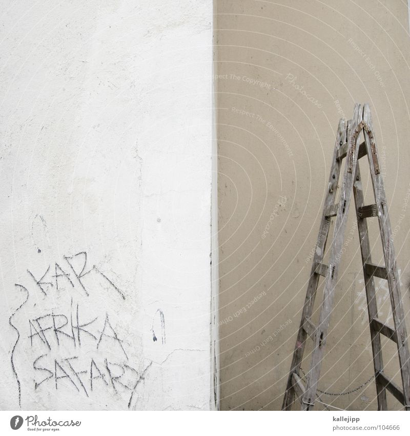 Wall (building) Graffiti Dirty Construction site Farm Craft (trade) Ladder Career Aggravation Half Part Safari Site Bla Tagger Vandalism