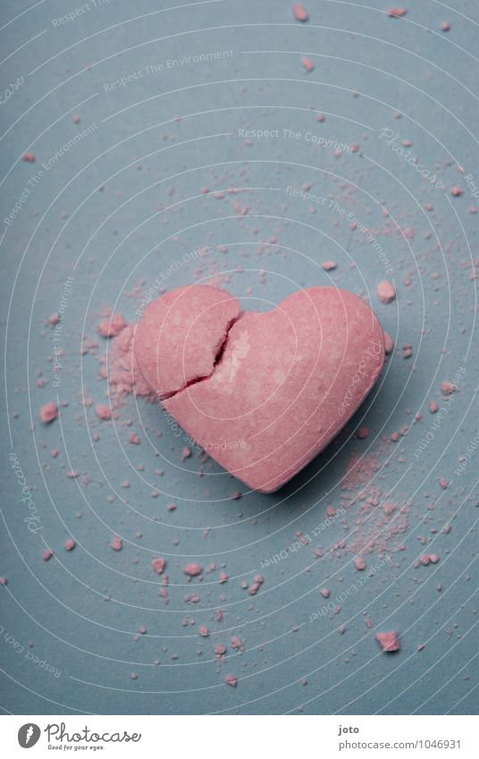 Loneliness Love Pink Heart Transience Broken Sweet Hope Longing Candy Division Pain Force Distress Trashy
