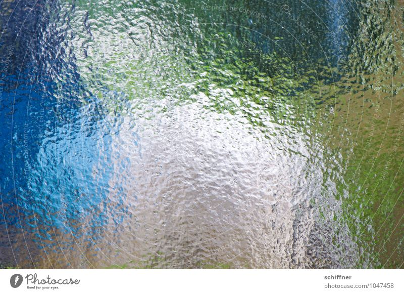 White Terrier Glass Blue Green Window pane Car Window Train window View from a window Abstract Groove Structures and shapes Arrangement Experimental Pattern