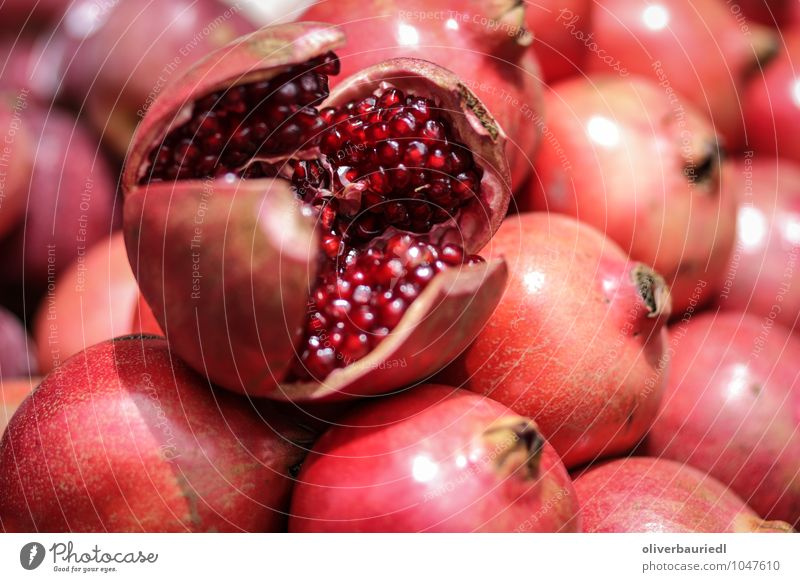 pomegranate Food Fruit Nutrition Organic produce Vegetarian diet Vacation & Travel Eating Fragrance Delicious Juicy Sweet Red Appetite To enjoy Bangalore India