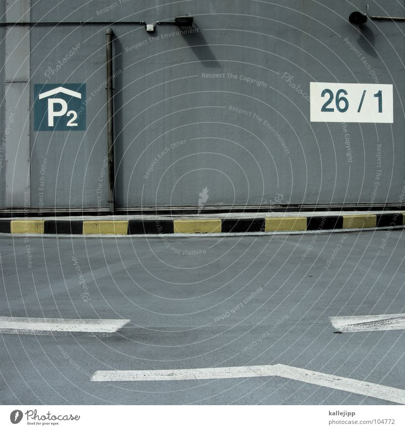 P2|26/1 Parking garage Parking lot Parking reserved for women Parking level Traffic regulation Direction Signs and labeling Digits and numbers Transport Asphalt