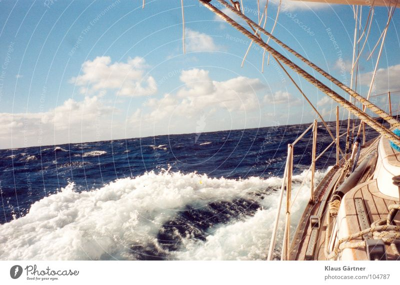 Ocean Waves Sailing Sailboat Aquatics Atlantic Ocean