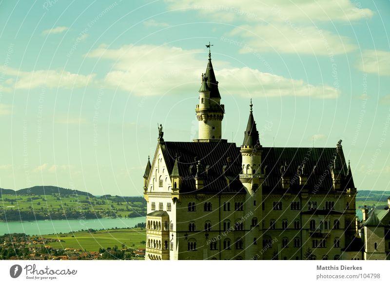 Beautiful Art Architecture Tourism Tower Living or residing Alps Fantastic Castle Luxury Jewellery Monument Historic Bavaria Landmark