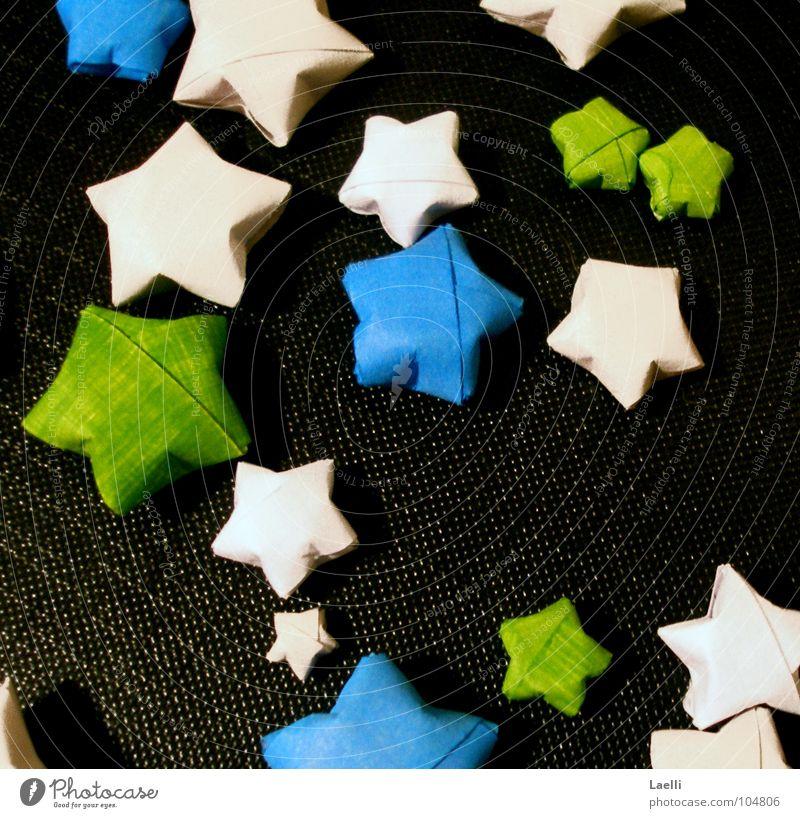 White Green Blue Black Dark Bright Star (Symbol) Celestial bodies and the universe