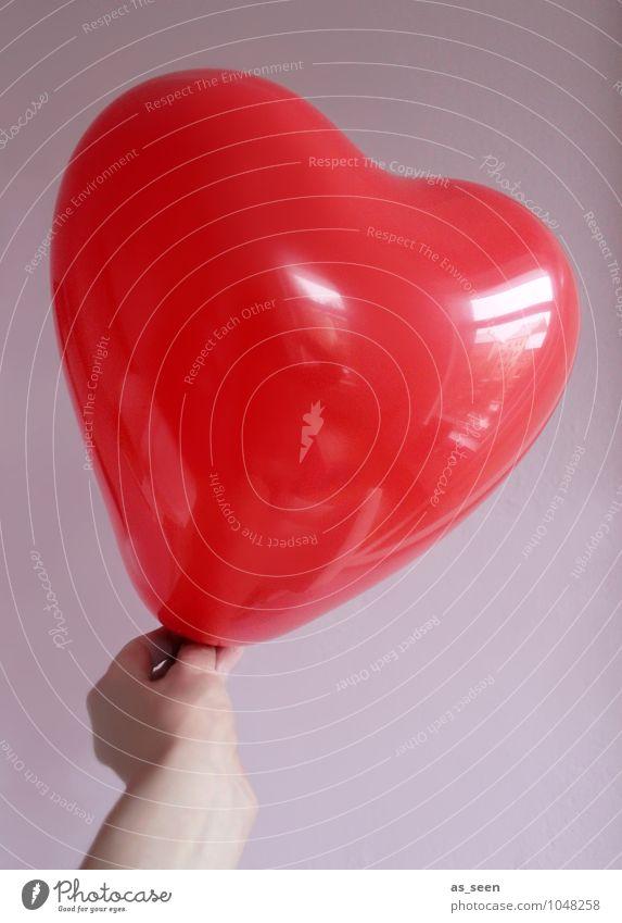 Colour Hand Red Joy Love Emotions Happy Feasts & Celebrations Design Glittering Birthday Creativity Heart Future Idea Romance