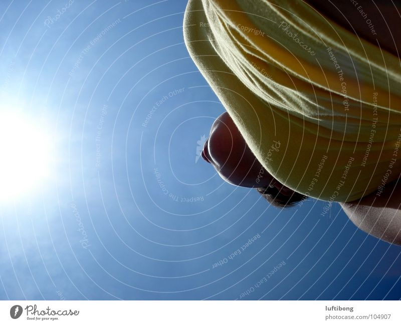 Sky Nature Blue White Sun Summer Colour Yellow Warmth Emotions Freedom Lighting Modern Beautiful weather Infinity Hot
