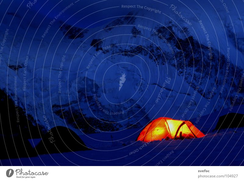 Nature Loneliness Dark Cold Snow Freedom Mountain Warmth Lamp Ice Rock Sleep Level Night Climbing Protection