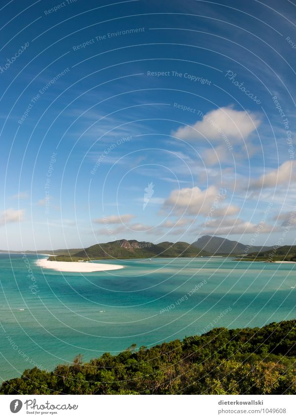 Whitsunday Islands Summer Summer vacation Sun Beach Ocean Waves Landscape Beautiful weather Bay Wanderlust Australia Vacation & Travel Great Barrier Reef