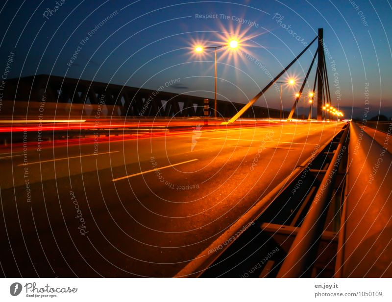 200 ...on the freeway. Radar station Speed control Energy industry Karlsruhe Germany Europe Bridge Transport Traffic infrastructure Road traffic Motoring Street