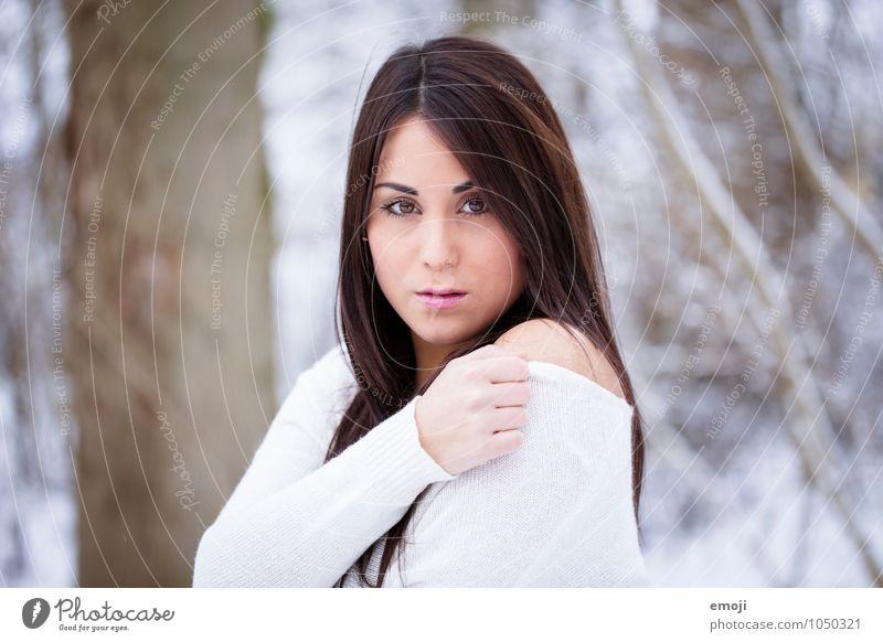 white Feminine Young woman Youth (Young adults) 1 Human being 18 - 30 years Adults Nature Bright Beautiful Colour photo Exterior shot Day Portrait photograph