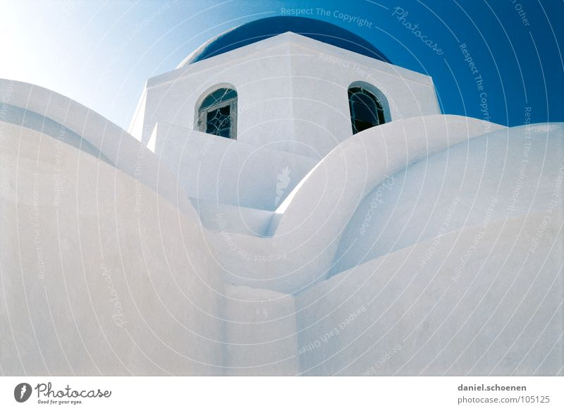 Greece abstract 2 White Blue Santorini Abstract Circle Square Structures and shapes Round Cyan House (Residential Structure) Roof Facade Background picture Cold