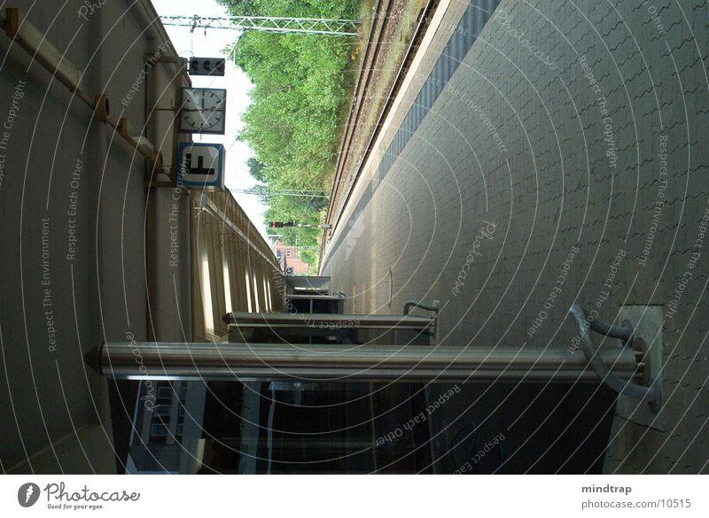 Calm Wait Railroad Platform Braunschweig