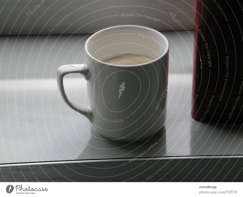 Cold Things Thirst Coffee cup