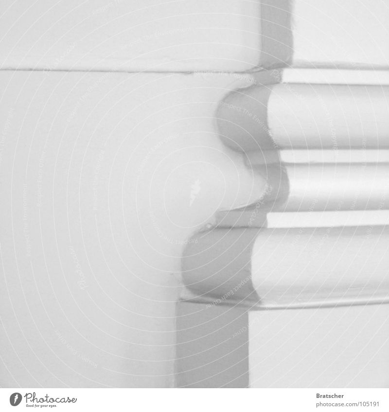 Ornament and Architecture Corner White Gray Simple Beautiful Pharmaceutics Philosophy Heiligendamm Detail Shadow Column nihilism