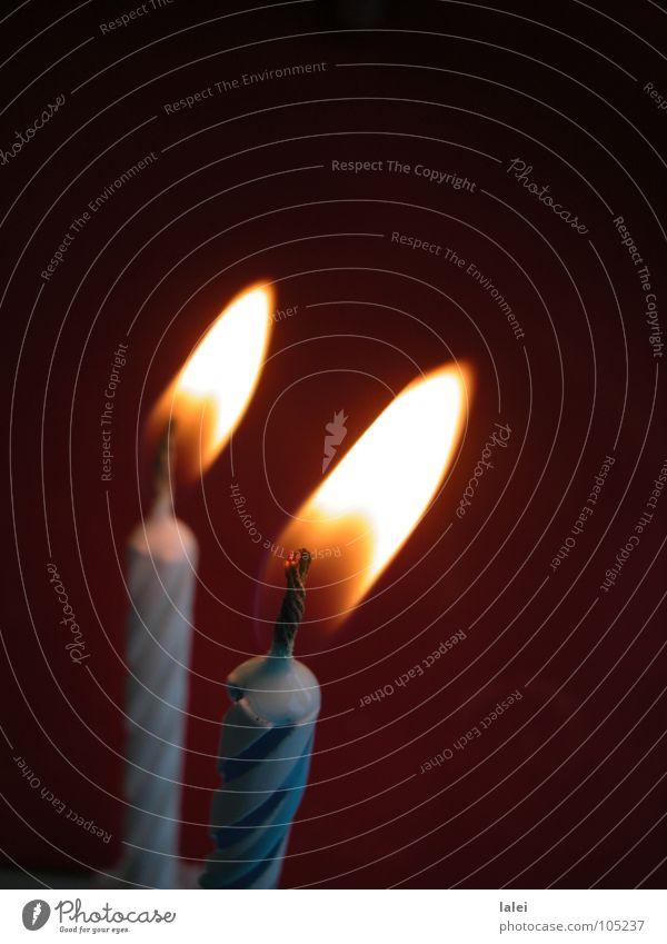Dark Birthday Blaze Candle Blow Ignite Gateau