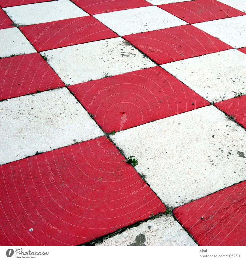 Check! Black Chessboard Checkered Might White Red Empty Dirty Schauinsland Concentrate Playing Sporting event Competition King ruler Lady Runner Tower tumbled
