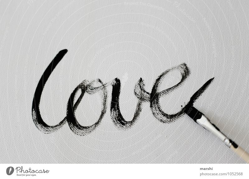 Love Art Artist Painter Sign Characters Emotions Moody Infatuation Valentine's Day Painting (action, work) Painting (action, artwork) Paintbrush Work of art