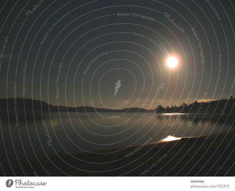 Water Ocean Beach Landscape Coast Bay Moon Full  moon
