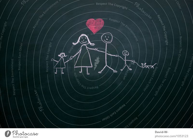 Human being Woman Man Girl Adults Life Love Feminine Boy (child) Happy Family & Relations Masculine Contentment Smiling Heart Touch