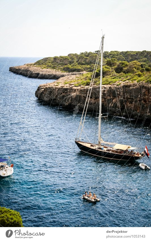 Mallorca from its beautiful side 19 - with bay Vacation & Travel Tourism Trip Freedom Cruise Summer vacation Environment Nature Landscape Plant Elements