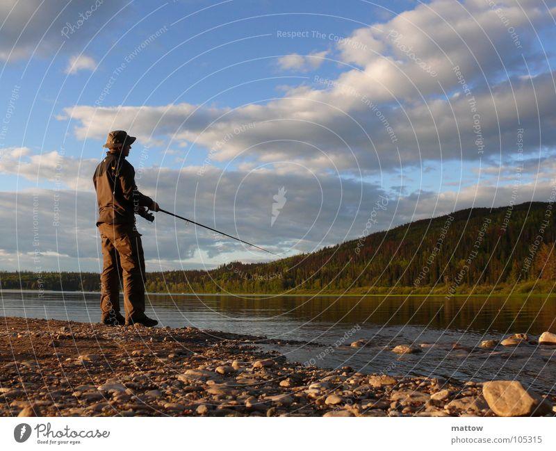 Nature Water Beach Nutrition Lake Coast Food Fish Leisure and hobbies String Fishing (Angle) Gravel Fishing rod