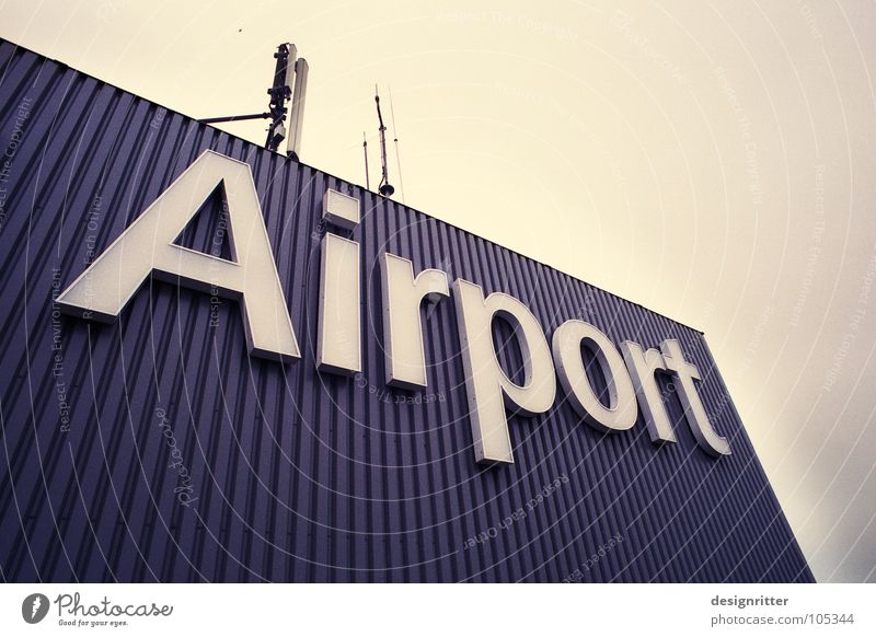 Vacation & Travel Airplane Flying Signs and labeling Transport Aviation Logistics Letters (alphabet) Airport Typography Departure Covers (Construction)