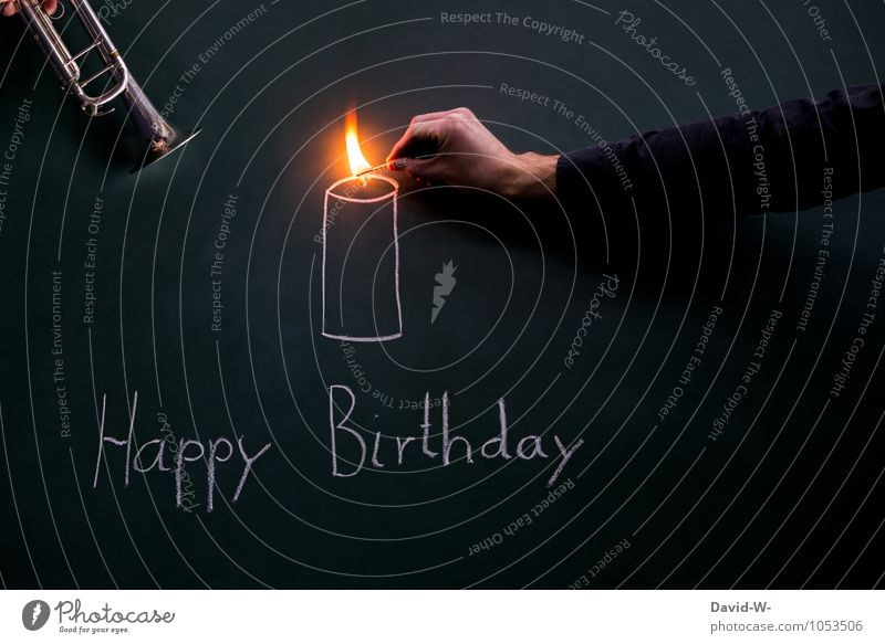 Happy Birthday - birthday serenade and candle Serenade Birthday song shoulder stand Ignite Trumpet Music