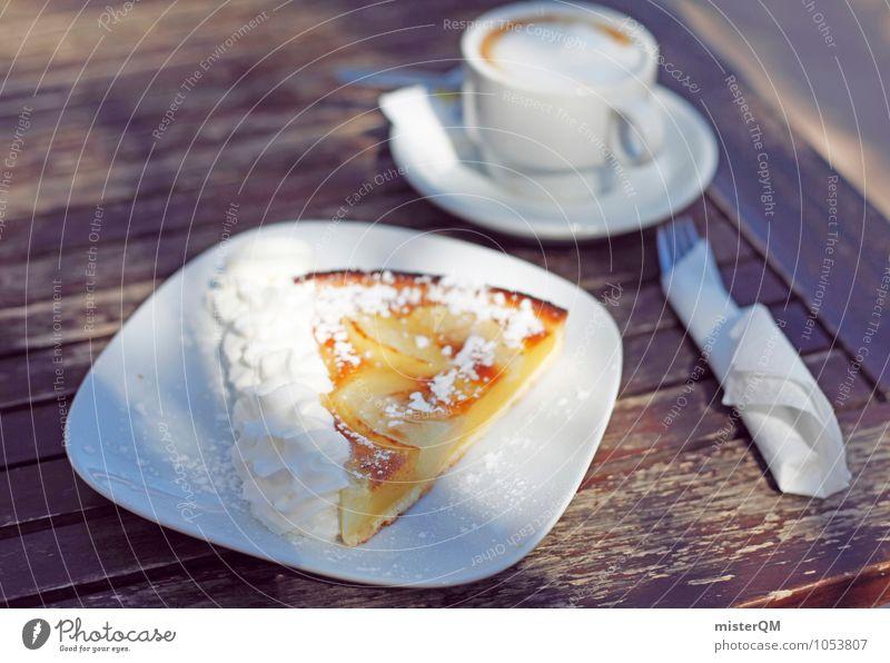 Homemade cake. Food Nutrition Breakfast Esthetic Coffee Coffee cup To have a coffee Coffee break Cake Breakfast table Delicious Majorca Unhealthy Alluring