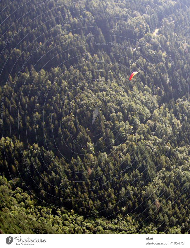 Green Vacation & Travel Red Joy Colour Emotions Orange Beginning Romance Dusk Painted Paragliding Sky blue Bronze Freiburg im Breisgau Play of colours