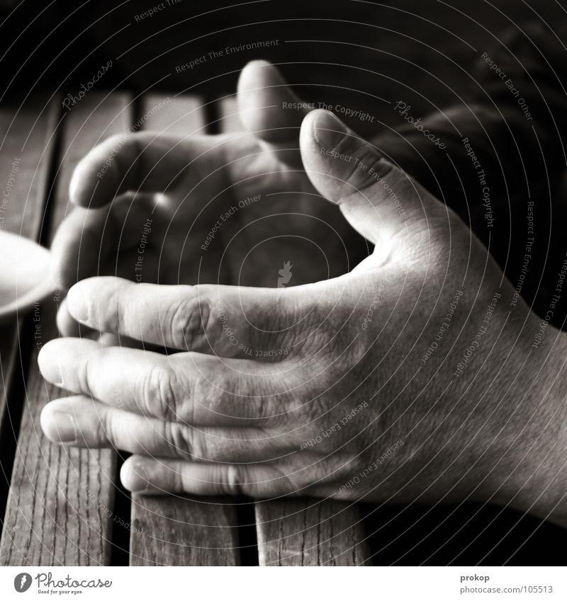 ...you understand? Hand Gesture Man Senior citizen Bulky Robust Fingers Fingernail Table Vessel Ask Answer To talk Understanding Misunderstand Brown Dark