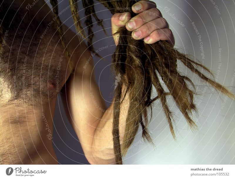 Human being Man Hand Dark Hair and hairstyles Bright Power Dirty Skin Arm Masculine Fingers Grief Threat Anger Long