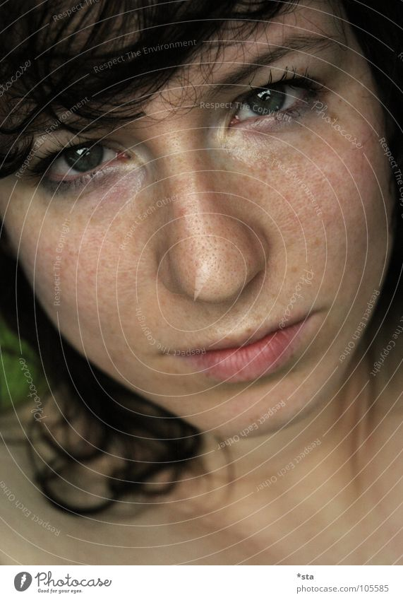 Woman Human being Beautiful Face Eyes Feminine Above Sadness Think Mouth Skin Nose Beauty Photography Grief Might Multiple