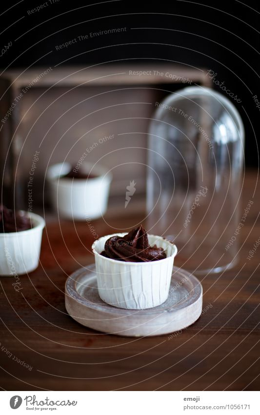 Brown Nutrition Sweet Delicious Candy Chocolate Dessert Rich in calories Mousse Mousse au chocolat