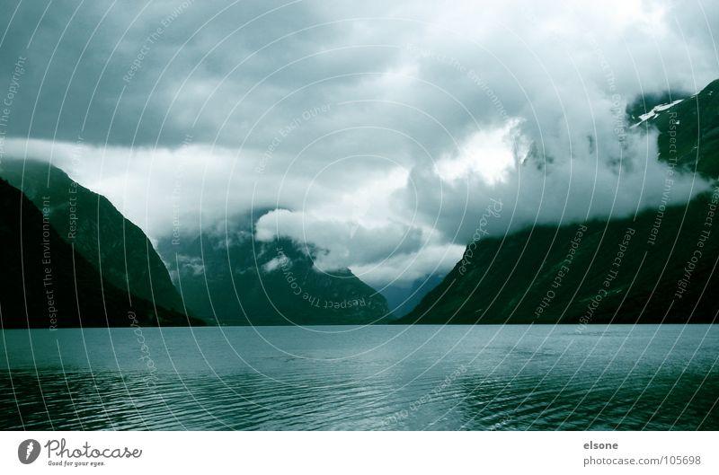 Nature Water Beautiful Sky Ocean Winter Clouds Mountain Landscape Desert Norway Heavenly Fjord Atlantic Ocean Impressive Geirangerfjord