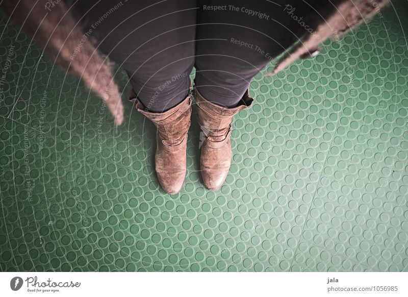Position Human being Feminine Woman Adults Legs Feet 1 Clothing Pants Boots Stand Wait Simple Selfie Colour photo Interior shot Copy Space bottom
