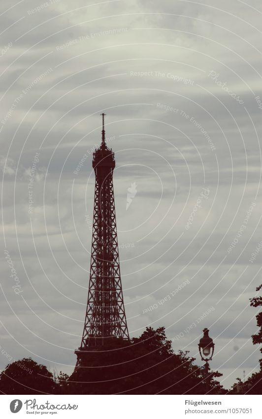 Architecture Building Vantage point Tower Manmade structures Skyline Wanderlust Capital city Landmark Steel Paris Tourist Attraction France Sightseeing