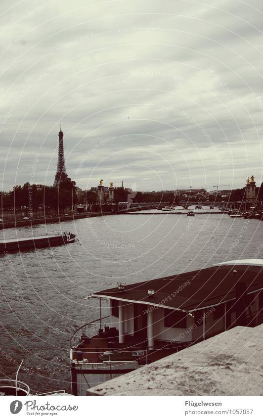 In Paris [1] Seine France Eiffel Tower Eifel Vantage point Tourist Attraction French High point Trip Watercraft Navigation Excursion Bridge Condom