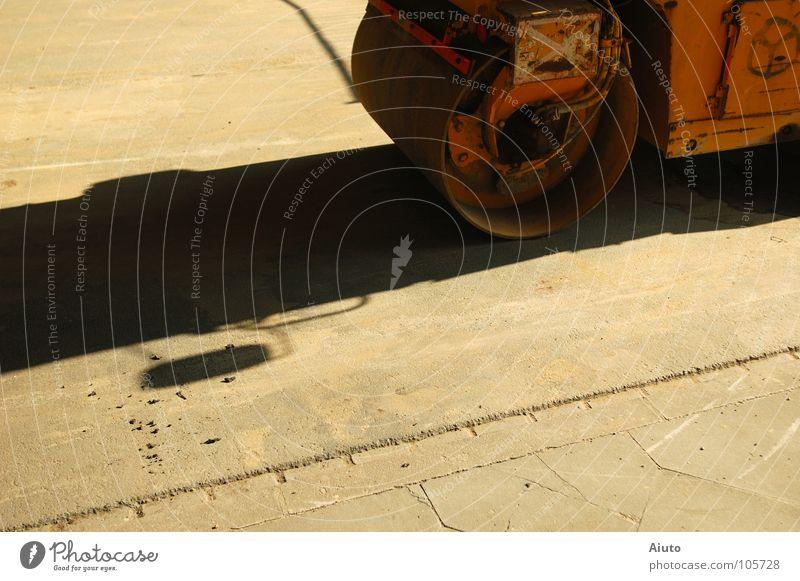 Sun Summer Street Brown Industry Mirror Rust Cobblestones Roll
