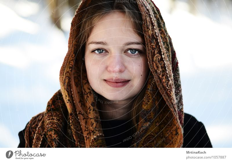 Winter view III. Human being Feminine Young woman Youth (Young adults) Woman Adults Brothers and sisters Sister Friendship Life Head 1 13 - 18 years