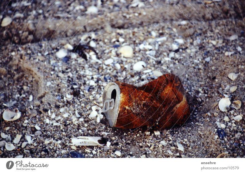 Beach Trash Obscure Rust Tin Scrap metal