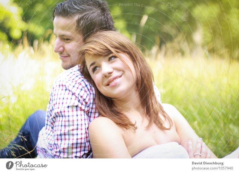 at your side Masculine Feminine Young woman Youth (Young adults) Young man Woman Adults Man Couple Partner Life 2 Human being 18 - 30 years Nature Spring Summer