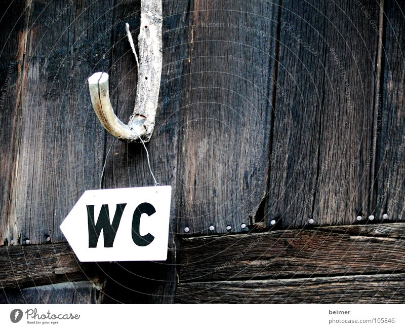 Wood Signs and labeling Characters Letters (alphabet) Toilet Signage Barn Road marking Checkmark