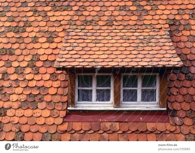 Old House (Residential Structure) Window Wood Stone Roof Tile Brick Hut Roofing tile Skylight Dormer Roof ridge