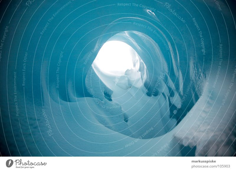 the eternal ice Cold Glacier Dark Primitive times Eternity Frozen Valley glacier Austrian Alps Switzerland Massive Ice Snow Crystal structure Hollow Bright