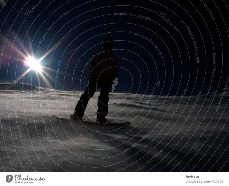 Sun Winter Dark Cold Snow Wind Cool (slang) Downward Easygoing Nordic Slope Swing Snowboard Winter sports Snow layer Snowboarding
