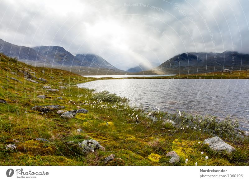 Nature Water Sun Loneliness Clouds Far-off places Mountain Grass Natural Freedom Lake Rock Rain Weather Trip Climate